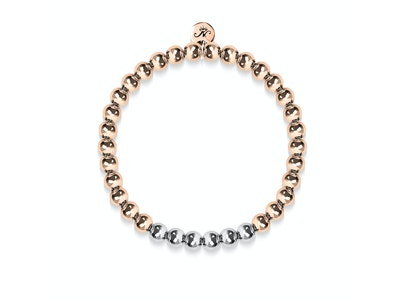 Alluring | 18k Rose Gold | Silver | Expression Bracelet