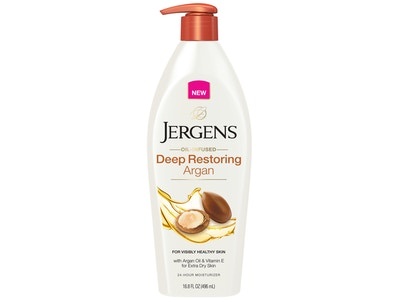 Jergens Oil-Infused Restoring Argan Oil Moisturizer