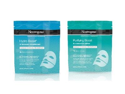 NOUVEAUTÉS – Faites peau neuve avec les nouveaux Masques Hydrogel régénérants de Neutrogena®
