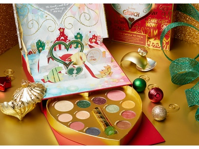 Dr. Seuss' The Grinch Good Enough To Steal Collectors Palette