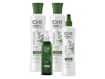 Healthy Scalp with CHI Power Plus