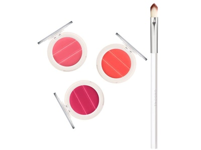 Lip to Cheek 3-in-1 Cream Palette AND Precision Brush