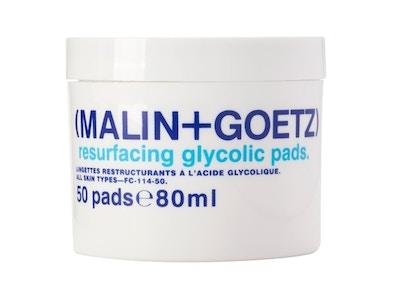 resurfacing glycolic acid pads.