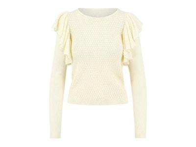 Sophia Ruffle Sweater