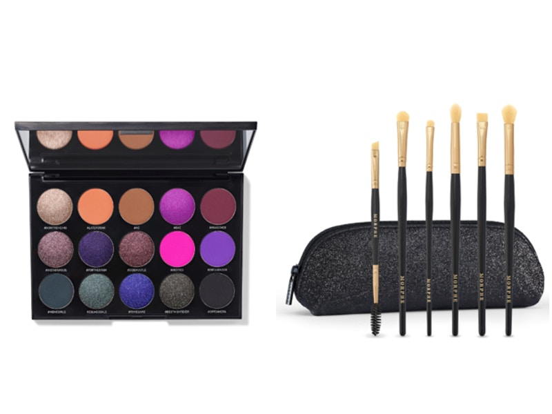 15S Social Butterfly Artistry Palette + All Eye Want 6-Piece Eye Brush Collection