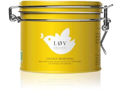 Løvely Morning, thé vert, agrumes : rituel matinal