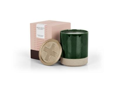 Arts and Crafts große Premium-Duftkerze mit Geschenkbox, Wildrose