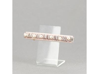CARNET DE BAL - (Pink hair barrette)