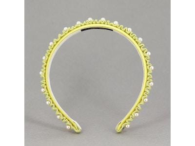 CARNET DE BAL - (Yellow headband)