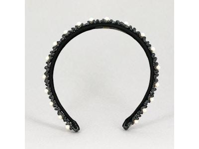 CARNET DE BAL - (Black headband)