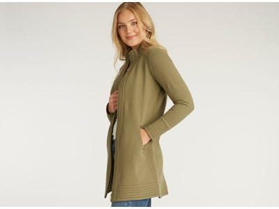 Fleece A Line Coat