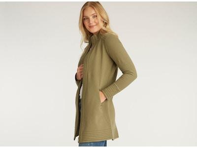 Fleece A Line Coat
