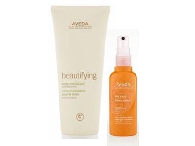 beautifying body moisturizer & sun care protective hair veil