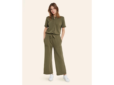 Terry Utility Jumpsuit