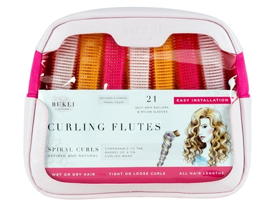 Curling Flutes, 21 Count, PU Leather Bag + Canvas Pouch