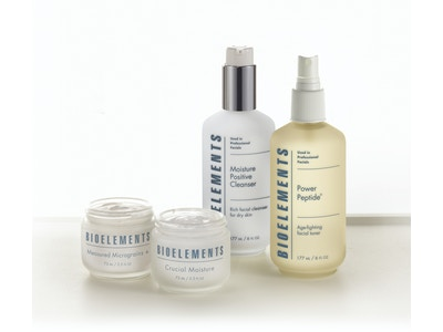 Bioelements Starter Kit: Oily, Combination, Dry, or Sensitive Skin (4-product bundle)