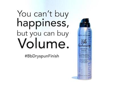 Spray de finition volume - Bb.Thickening Dryspun Finish
