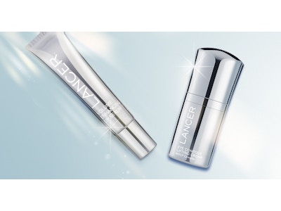 Volume Enhancing Lip Serum and Eye Contour Lifting Cream (2 Product Bundle)
