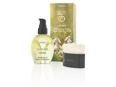 NUEVO!! Tulasara radiant awakening kit: Aceite + Cepillo