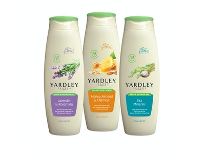 Trio of body washes by Yardley. Experience the kind of clean you want from relaxing to invigorating.