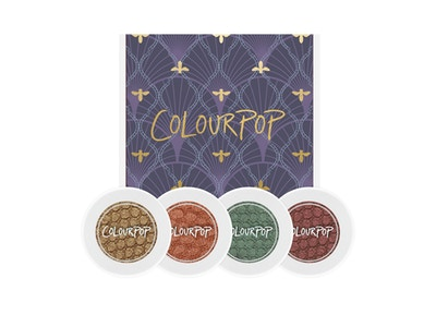 ColourPop Studio 1400 Pearlized Shadow Foursome (4 product bundle)
