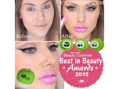 CandyLipz Lip Plumper- Winner of 30 Prestigious Awards - Clinically Tested- Best in World!