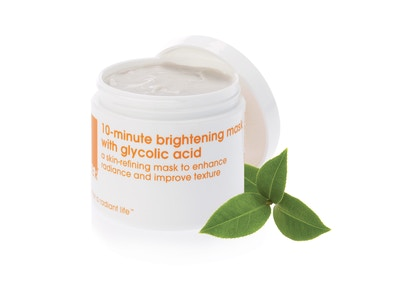 **Back in stock** 10-minute brightening mask with glycolic acid