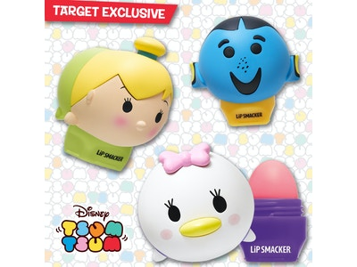 Lip Smacker Tsum Tsum Trio - Dory, Daisy and Tinkerbell!