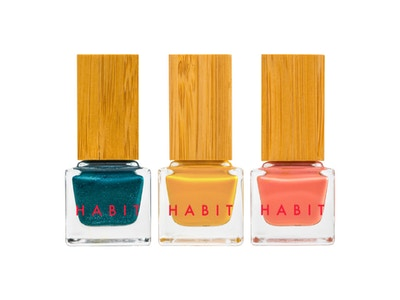 Habit Cosmetics Winter 2016 Nail Polish Collection: 34 Vesper, 41 Terra and 42 Cavalier