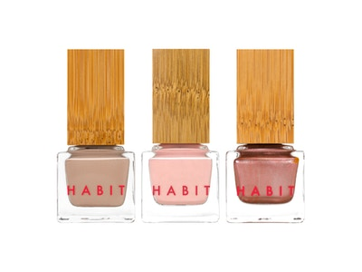 Habit Cosmetics Nail Polish Classic Bestsellers: 12 Bardot, 23 Ingenue and 26 Serpentine Fire