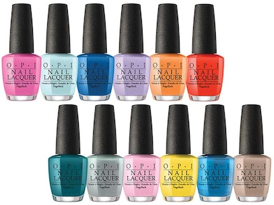 OPI Fiji Collection - Nail Lacquer
