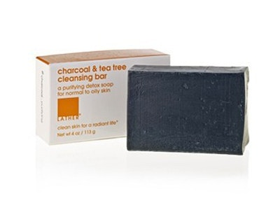 BACK IN STOCK!* charcoal & tea tree cleansing bar