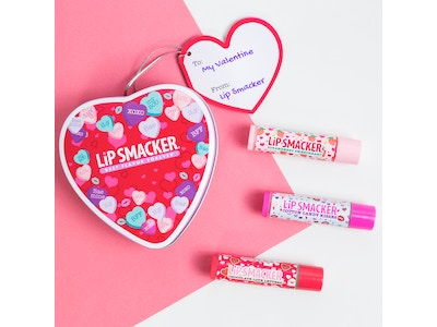 Lip Smacker Valentine's Heart Tin (lip balm trio)
