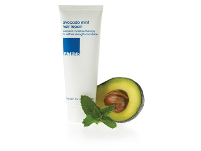 avocado mint hair repair