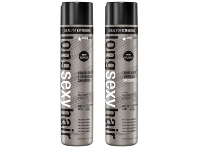 Long Sexy Hair Color Safe Luxurious Shampoo & Conditioner