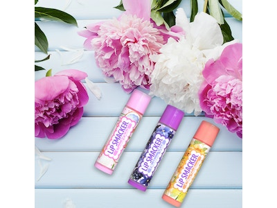 Lip Smacker NEW Garden Bouquet Trio