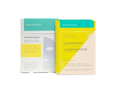 FLASHMASQUE® 5 MINUTE FACIAL SHEETS: ILLUMINATE
