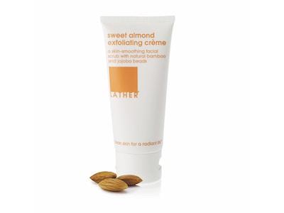 NEW*** sweet almond exfoliating creme