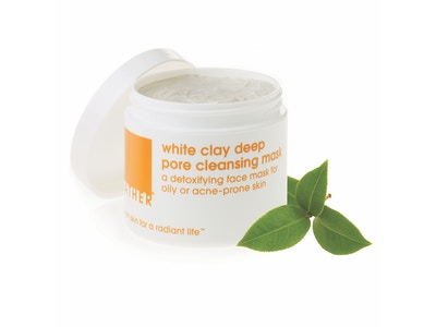 NEW*** white clay mask