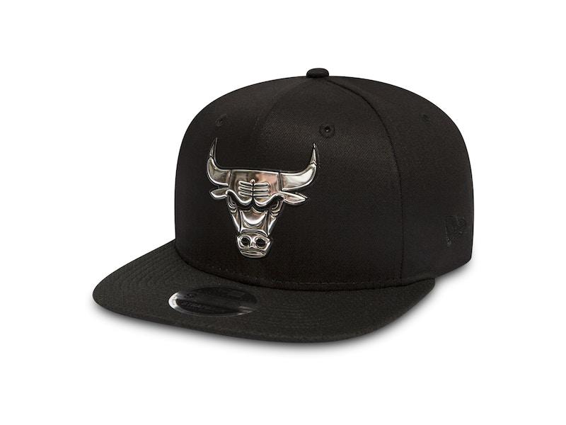 7136a4167060 NEW ERA ⋅ Casquette NBA 9FIFTY Metallic - Chicago Bulls