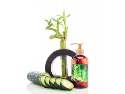Bamboo and Cucumber Moisturizing Shampoo