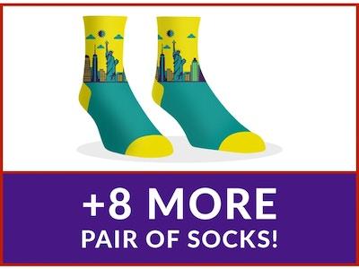 Dollar Socks Box - 9 Pairs of Socks For Women - Instagram