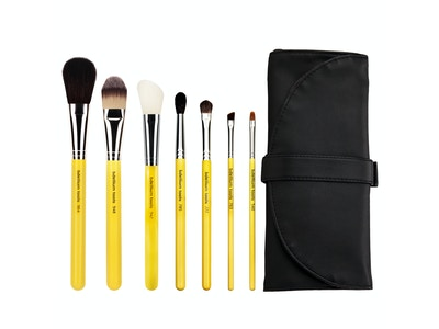 Bdellium Tools - Studio Line - Basic 7 pc. Brush Set & Roll Up Pouch
