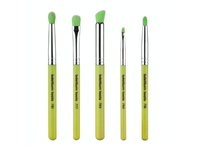 Bdellium Tools - Green Bambu Line - Smoky Eyes 5 pc. Brush Set