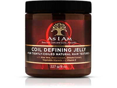COIL DEFINING JELLY For Defining Tightly-Coiled Natural Hair Textures
