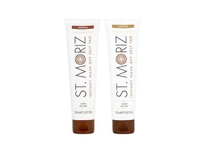 St. Moriz Professional Instant Wash Off Shimmer & Medium