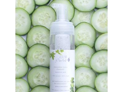 Cucumber Juice Facial Cleansing Foam