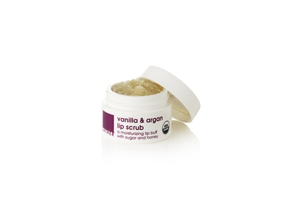 NEW!* vanilla argan lip scrub