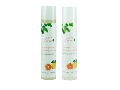 Yuzu & Pomelo Glossing Shampoo + Conditioner Set
