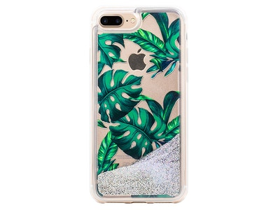 OLD_Jungle Glitter Palmetto in Green Snap-on Case iPhone 7 Plus